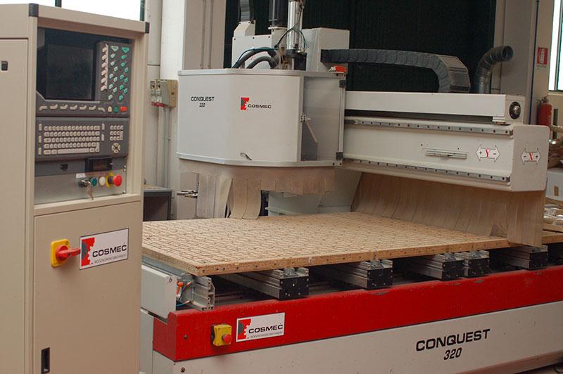 Macchinari Torneria Mauro Bigini, un'eccellenza nella tornitura del legno grazie all'avanzata tecnologia
