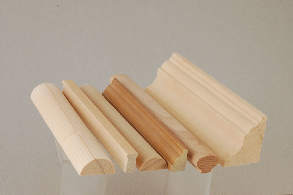 Profilatura e scorniciatura legno, Torneria Bigini Mauro, Petriano (PU)