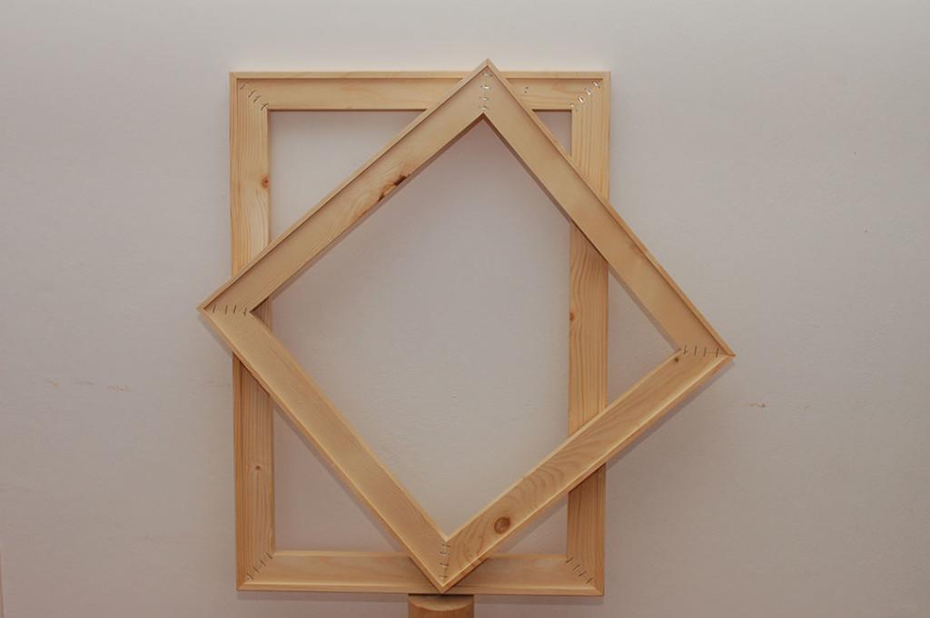 Realizzazione telai in legno per tele e quadri