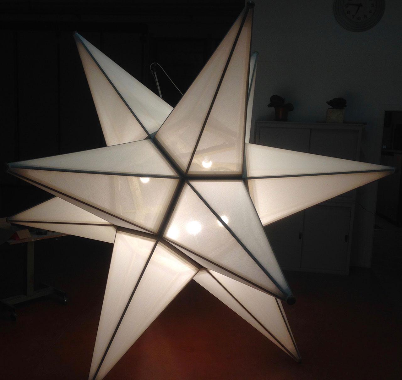 Stelle Illuminate per Festività e Eventi